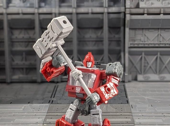 TF Seige Magnus Hammer 3d printed