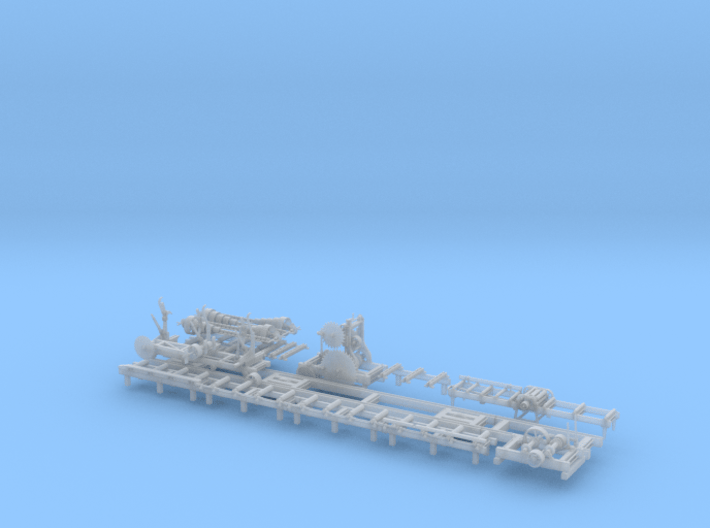 Sawmill Complete 1/64 3d printed