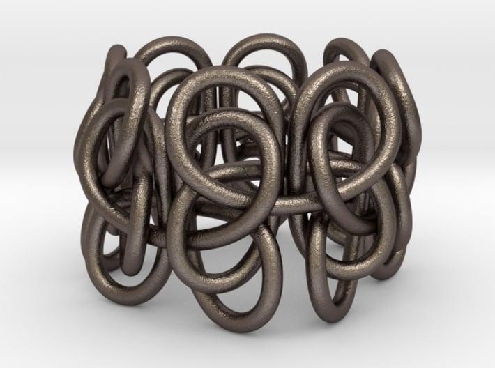 Pastafarian Knot 3d printed