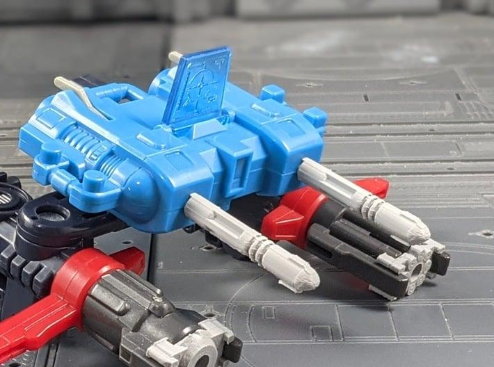 TF RID Ultra Magnus Omega Prime Missile Set 3d printed