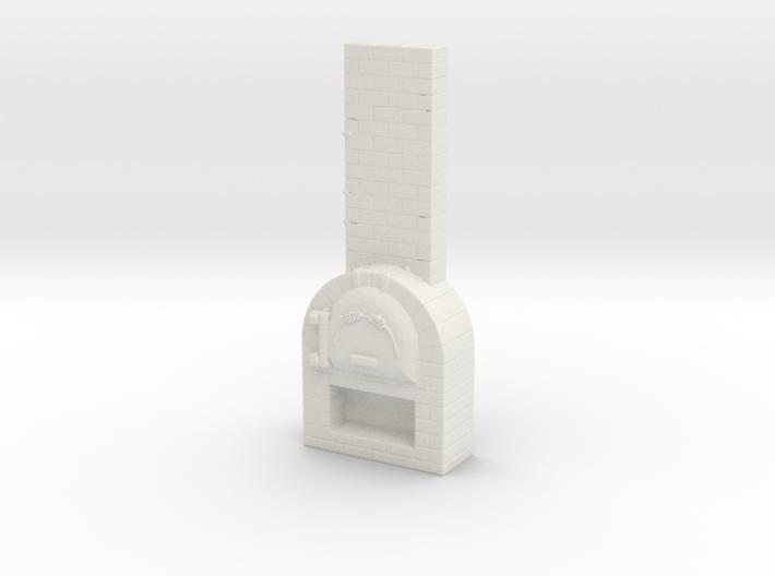 Brick Oven 1/76 3d printed