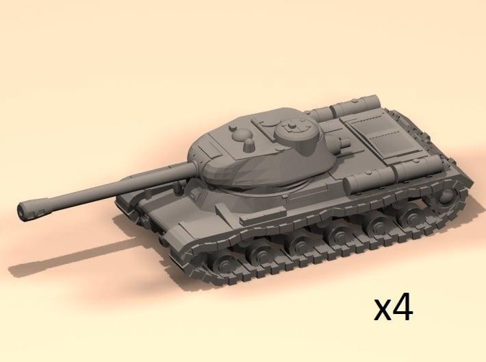 6mm IS-2 tanks 3d printed