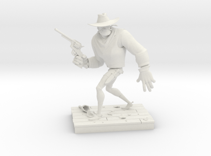 TheGunfighter (Small) 3d printed