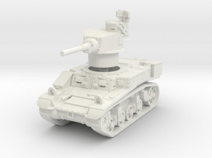M3 Stuart mid UK 1/76 3d printed