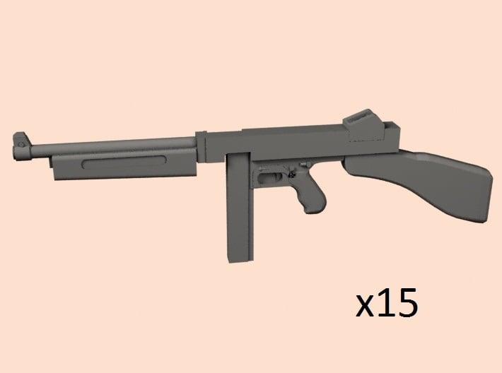 1/24 Thompson M1 3d printed