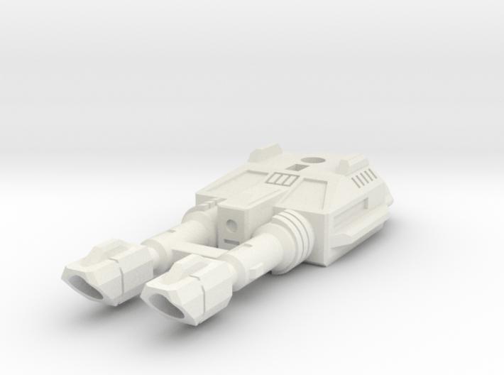 TF CW Dragstrip Slim Car Cannon 3d printed