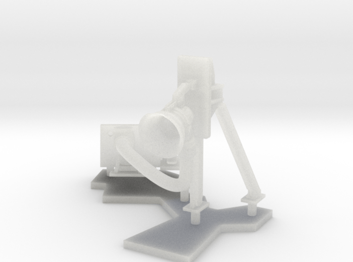 1:96 scale Standing Refuel - Right on post 3d printed