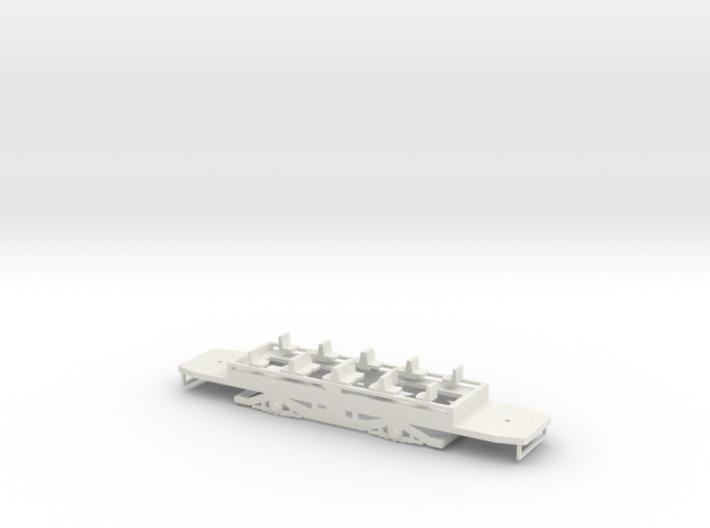 n2 Fahrgestell für einen Beiwagen für Hallingräder 3d printed