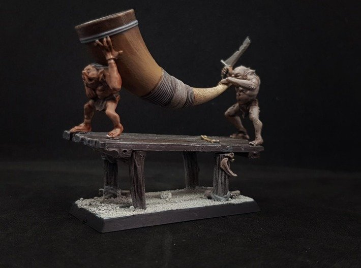 Goblin Band Conversion Kit 3d printed Great Horn