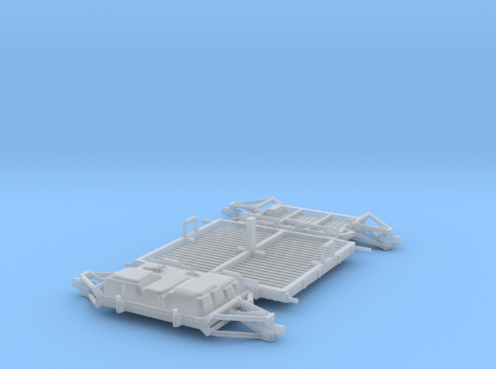 01-02a-03a-Chassis-Going straight 3d printed
