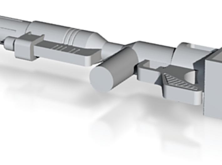 Gun model, fits Transformers Optimus Prime Figure 3d printed
