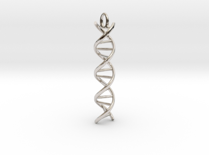 dna helix 3d printed