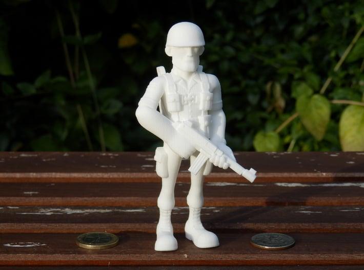 Paratrooper 3d printed