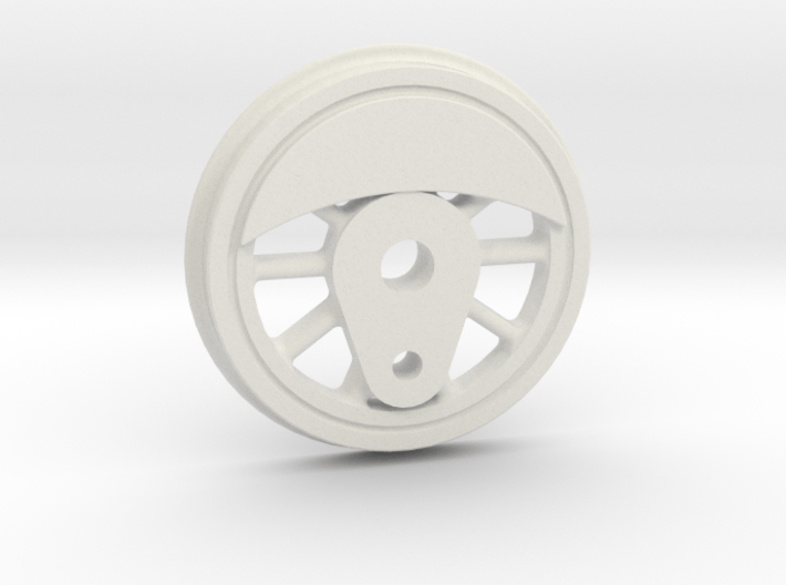 "3/4"" Scale Caribou to USRA Switcher Conversion Mai 3d printed"
