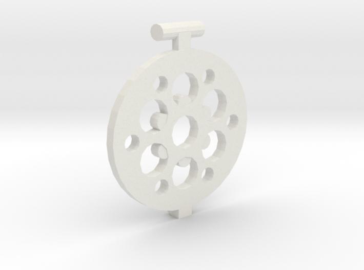 Lattice Lid 3d printed