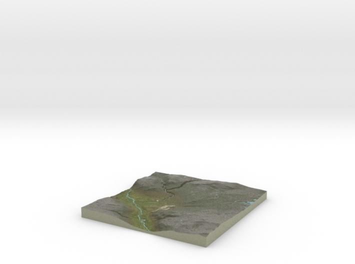 Terrafab generated model Mon Aug 18 2014 08:32:39 3d printed