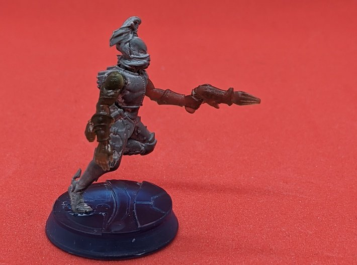 Space Elf Harlequin Caress with Arm RH x10 3d printed