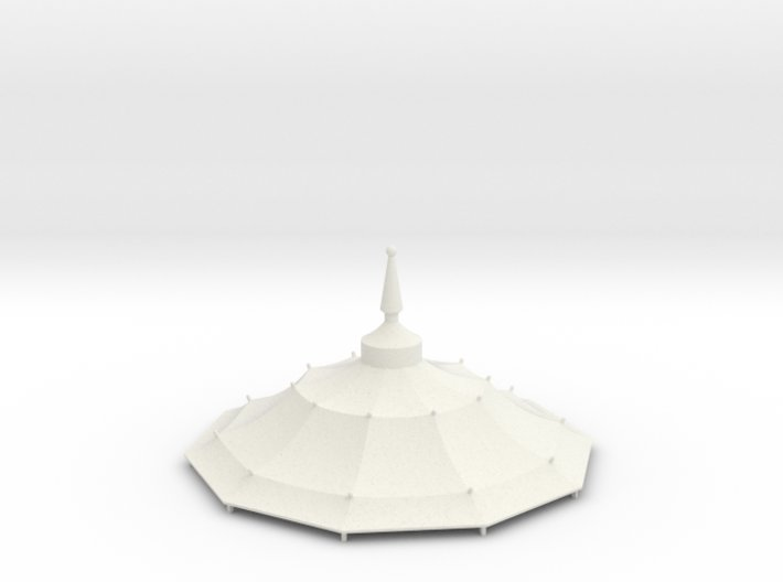 Austauschdach IHC-Carousel 3 für 1:87 (H0 scale) 3d printed