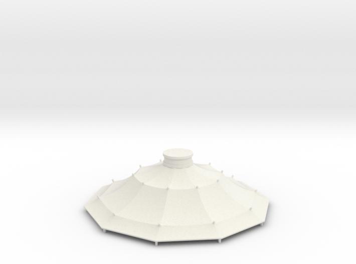 Austauschdach IHC-Carousel 2 für 1:87 (H0 scale) 3d printed
