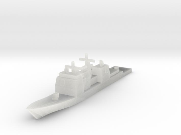 USN Ticonderoga class 1/4800 3d printed