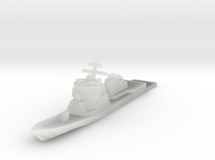 USN Arleigh Burke class 1/4800 3d printed