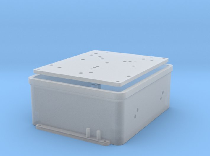 1:8 BTTF DeLorean Flux Capacitor set 1 of 2 3d printed