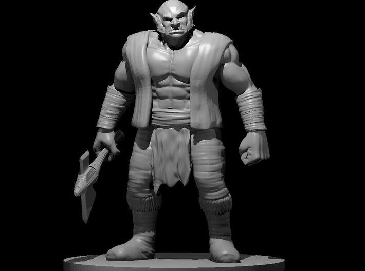 Half Ogre 3d printed
