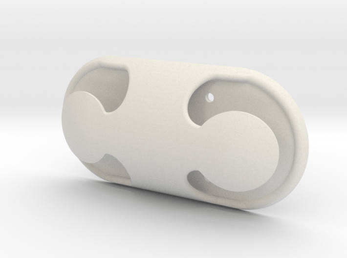 Cleat hook Dual horn 3d printed