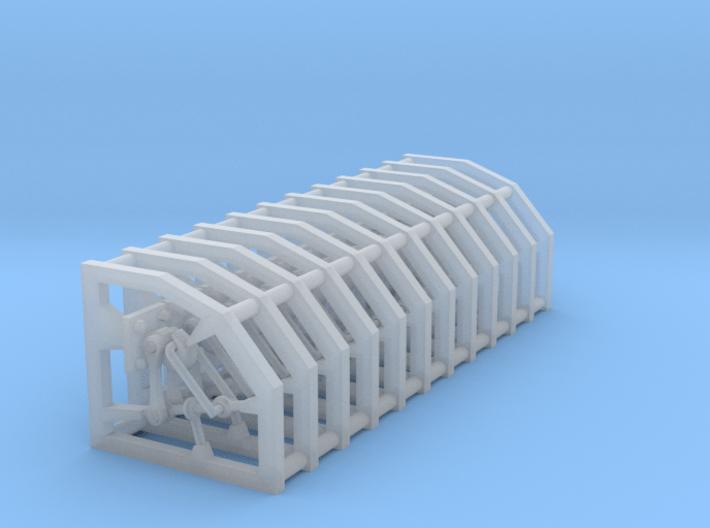 12 x gancioRealistico scala N 3d printed