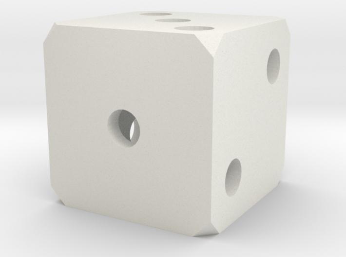 Hollow Dice 3d printed