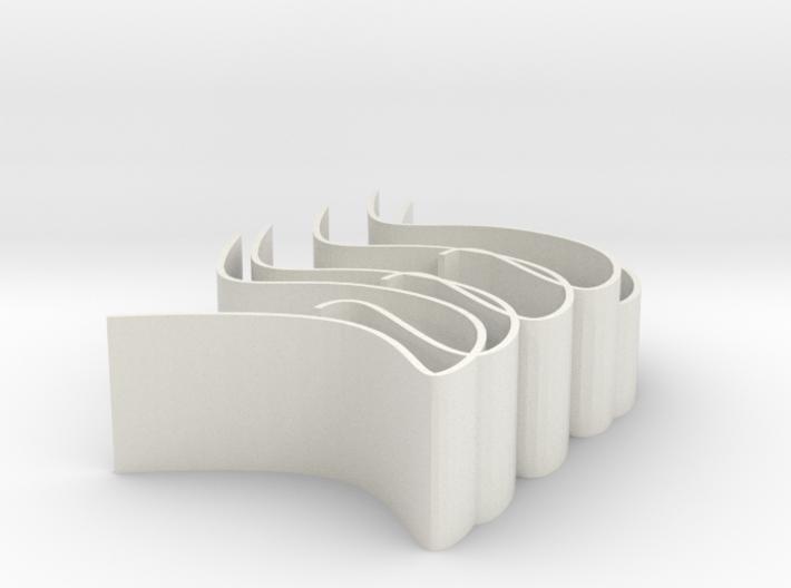 Ribbon 3d printed