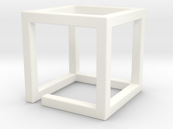 ReallyBigMazeNCubes - Outer Piece 72mm - need 2x 3d printed