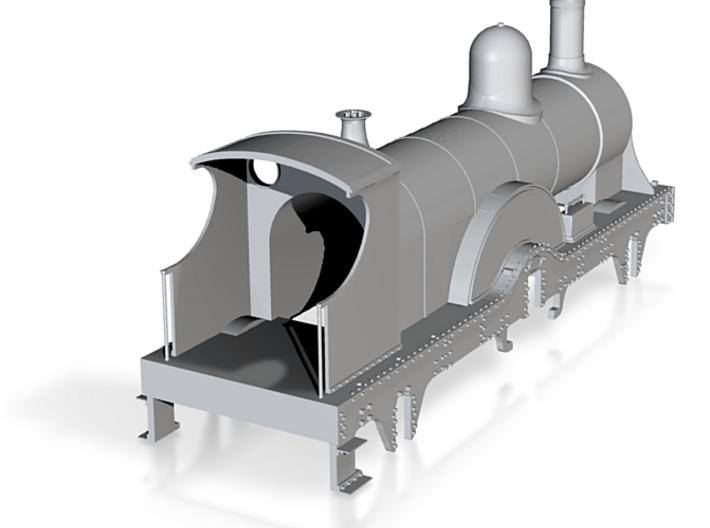GWR Queen Class loco body 3d printed