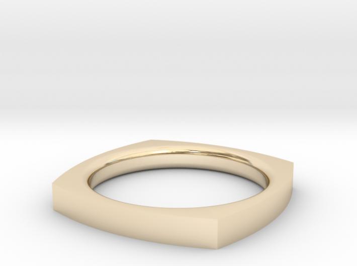 Zen Ring Size 6 3d printed