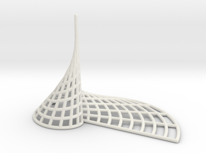 Archimedean Spire 3d printed