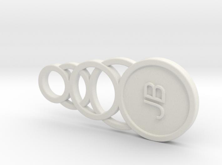 Key Fob 2a 3d printed