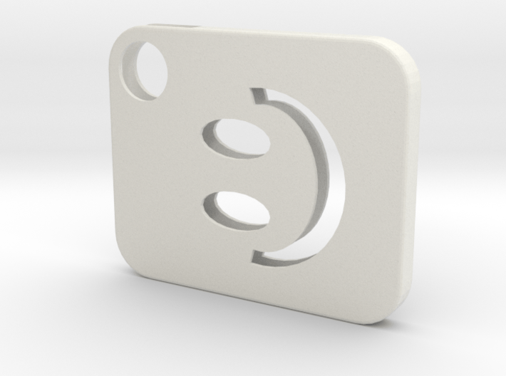 Flash Cover Smiley 3d printed