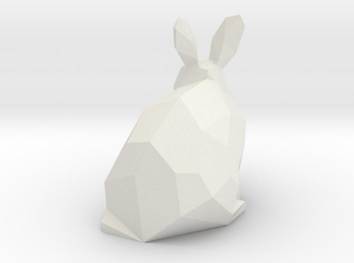 Rabbit 3d printed