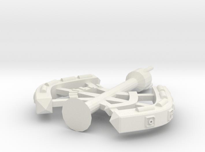5 Large Spaceship 3d printed