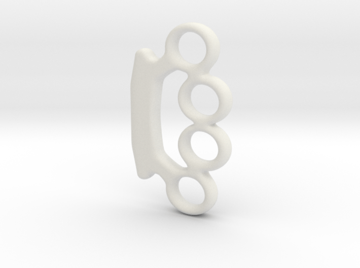 Mini_brassknuckles_smooth_ver1.dae 3d printed