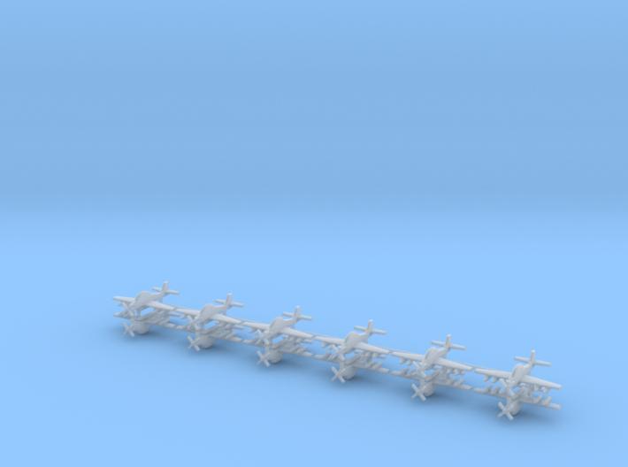1/700 EMB 314 / A-29 Super Tucano (x12) 3d printed