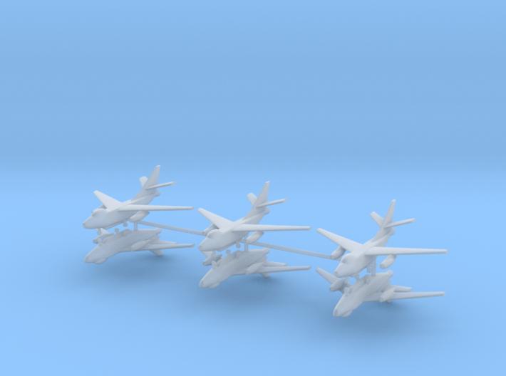 1/700 EA-3B Skywarrior (x6) 3d printed