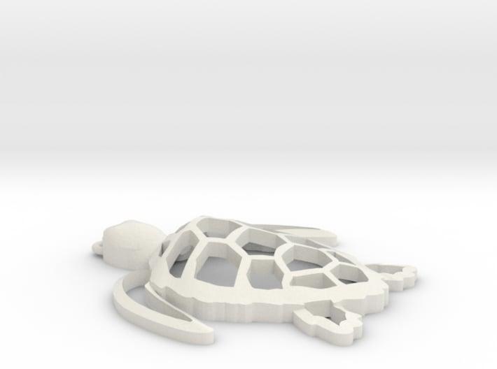 Sea turtle ornament Final 3d printed
