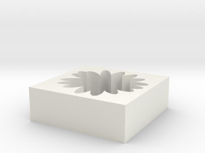Flower Cut Out 3d printed