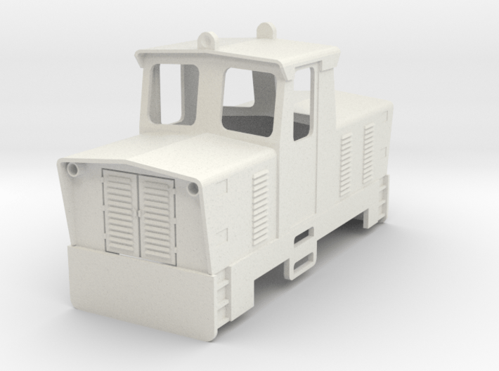 PKP Lyd1 0e Scale 3d printed