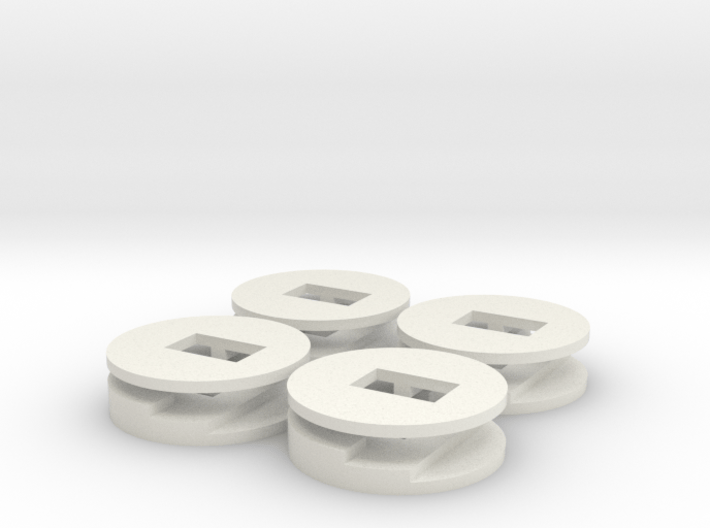 4 plugbuttons 3d printed