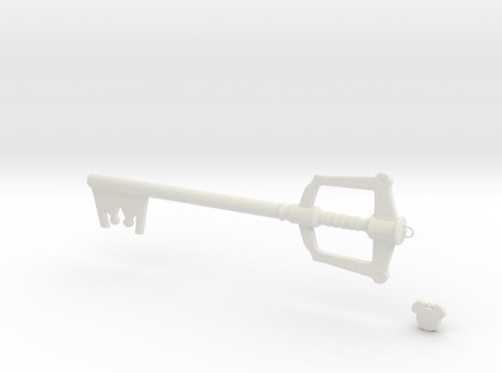 Keyblade Small 3d printed