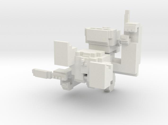 Small Pixel Monkey 3d printed