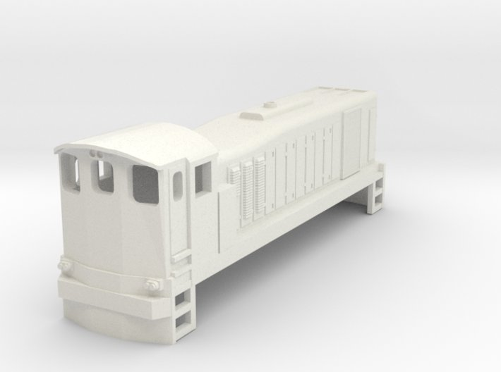 3mm Scale 121 3d printed