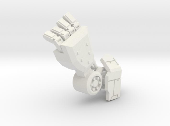 Robot arm 80% 3d printed